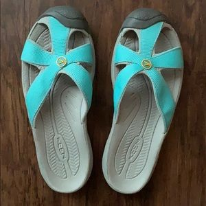 Keen Open Back 'Bali' Style Slip On Sandals Size 8